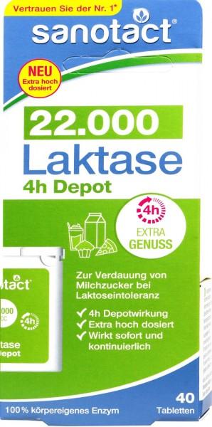 Sanotact Lactase 22.000, 40 PK