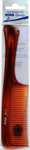 Havana Acetate Handle Comb, 21 cm