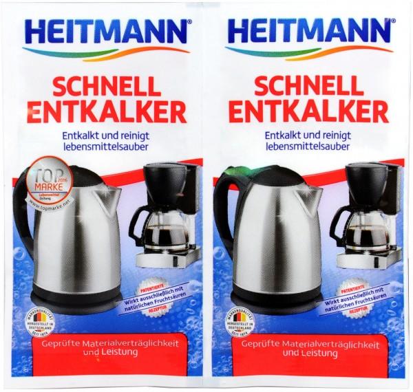 Heitmann Quick Descaler, 2 x 15 g