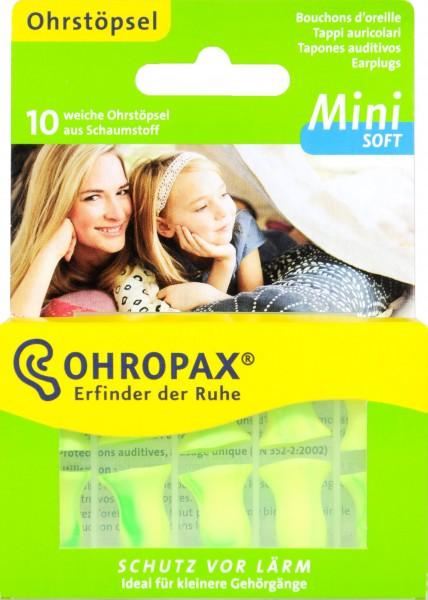 Soft Mini Ear Plugs, 10-pack