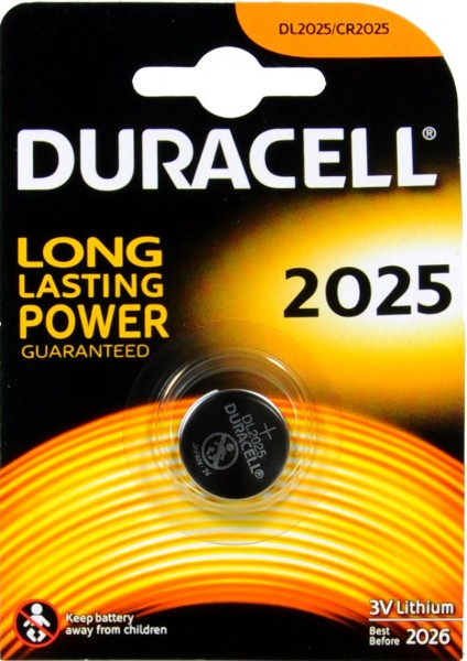Duracell CR 2025 Twin Pack 3 V
