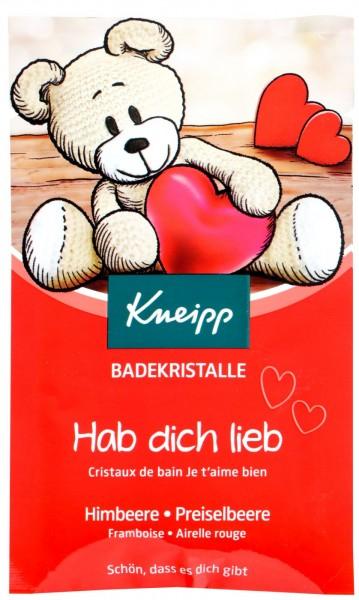 Kneipp love you Bath Crystals, 60 g