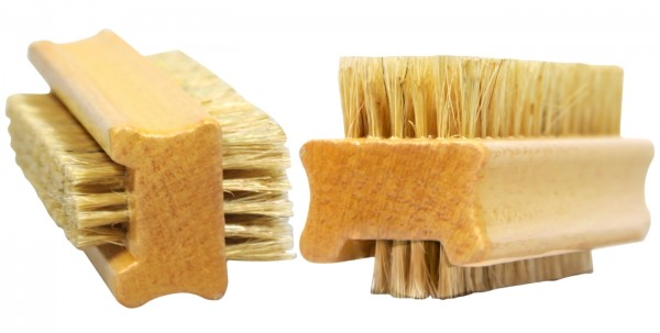 Wooden Hand Brush, double-sided