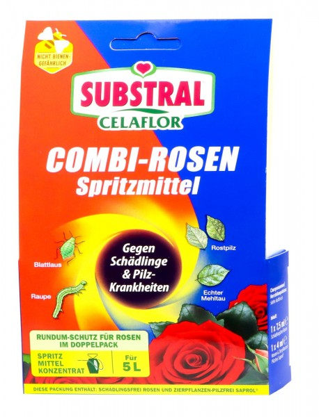 Celaflor Combi Rose Spray, 4 x 25 ml