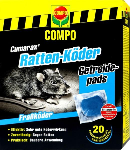 Compo Rat Bait Cumarax Cerealpads, 200 g
