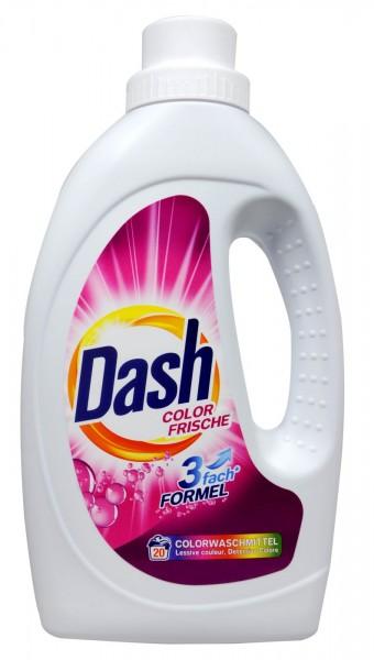Dash Colour Detergent, liquid, 20 washes, 1.1 l