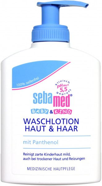 Sebamed Baby Skin and Hair Cream Wash, 200 ml