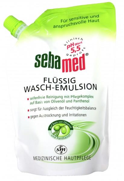 Sebamed Olive Wash Emulsion Refill Pack, 400 ml