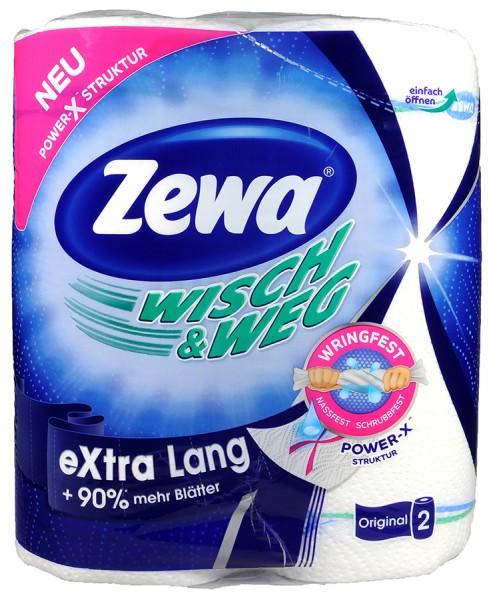 Zewa Wisch und Weg Classic Original, extra long, 2 x 86