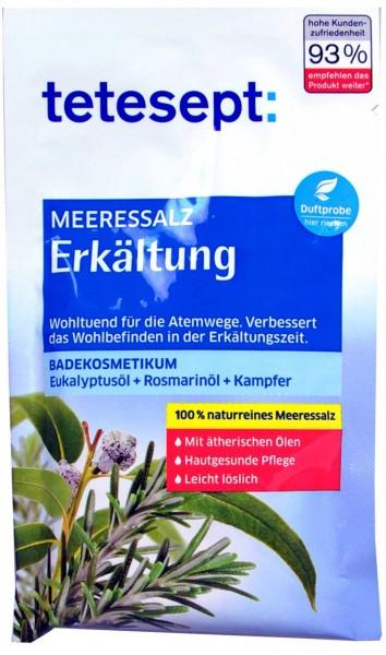 Tetesept Sea Salt for Colds, 80 g