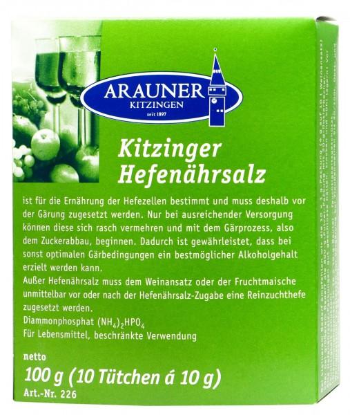 Kitzinger Yeast Nutrient, 10 x 10, 100 g