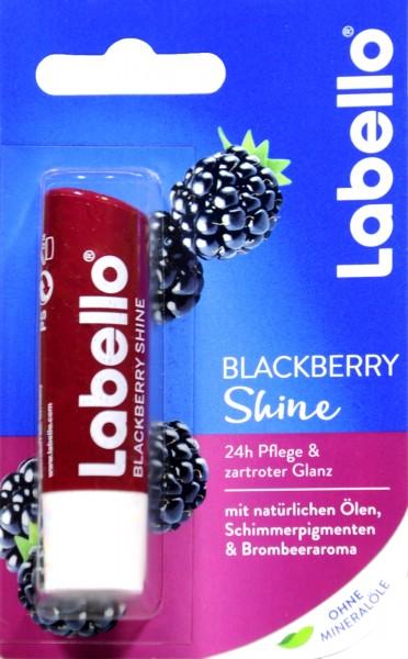 Labello Fruity Shine Blackberry, 4,8 g