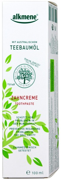 Alkmene Tea Tree Oil Toothpaste, 100 ml