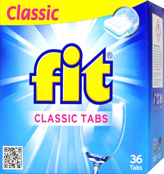 Fit Classic Tabs 648 g, 36-count