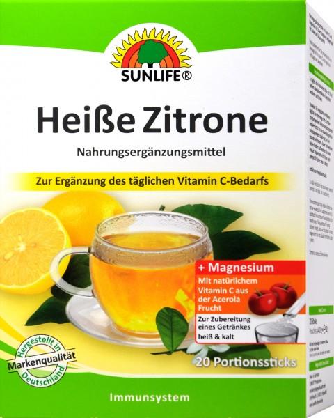 Sunlife Hot Lemon Acerola, 20-count