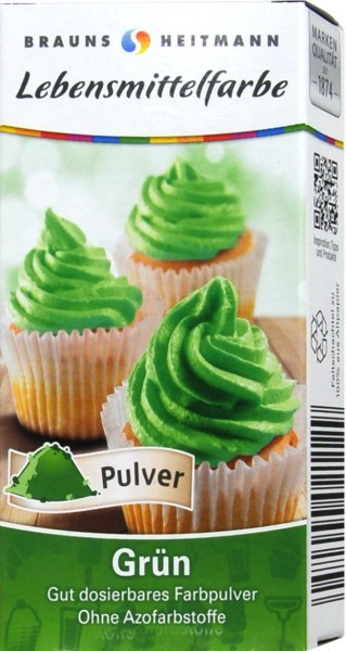 Food Colouring, Green, 2 x 4 g