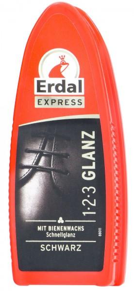 Erdal 1-2-3 Gloss Black, 1-pack