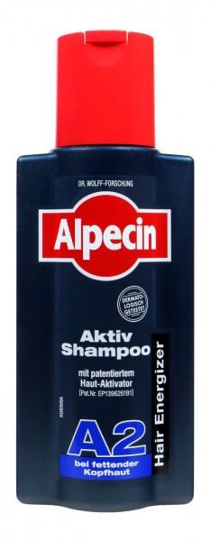 Alpecin Active Shampoo A2 for oily scalps, 250 ml