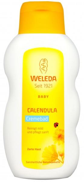 Weleda Calendula Baby Cream Bath, 200 ml