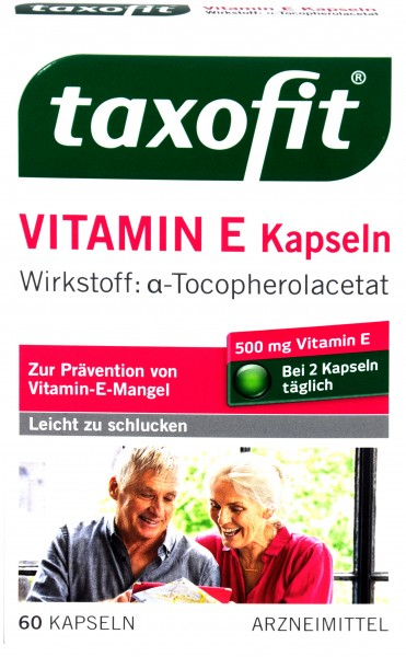 Taxofit Vitamin E, 60-count