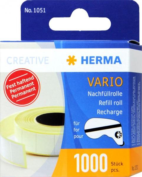 Hermafix Vario Replacement Roll, 1000-count