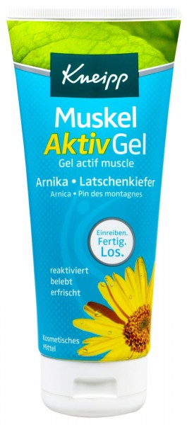 Kneipp Muscle Active Gel, 200 ml