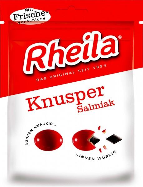 Rheila Crunchy Coated Salmiak Licorice Sweets, 90 g