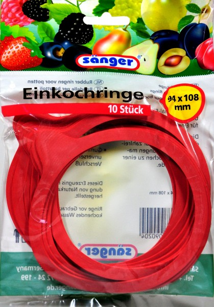 Preserving Ring, 94 x 108 mm, 10-count