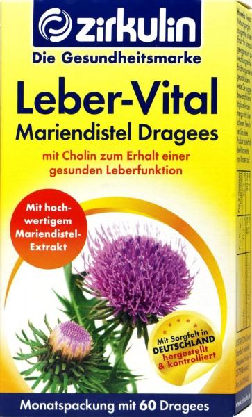 Zirkulin Liver Vital Tablets, 60-count