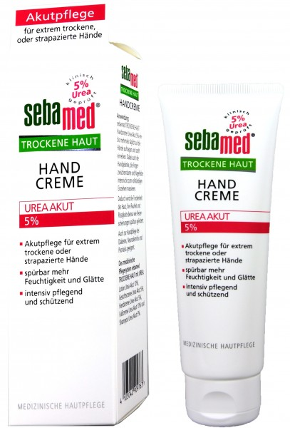 Sebamed Dry Skin Urea 5% Hand Cream, 75 ml