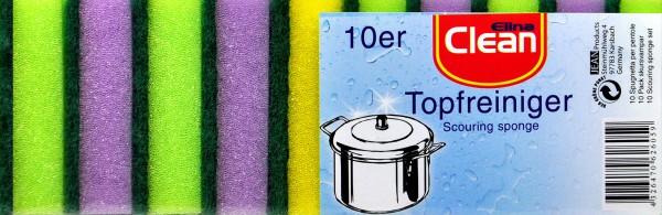 Sponges, multi-colour, 10-pack