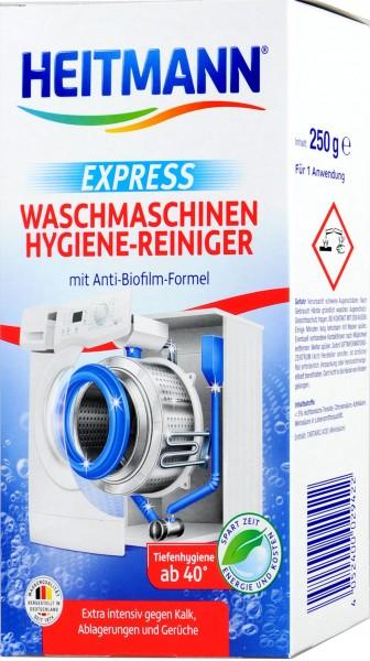 Heitmann Express Hygienic Washing Machine Cleaner, 250 g