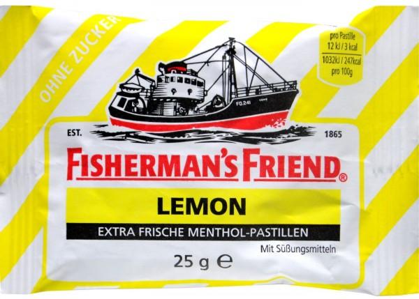 Fisherman's Friend Lemon, sugar-free, 25 g