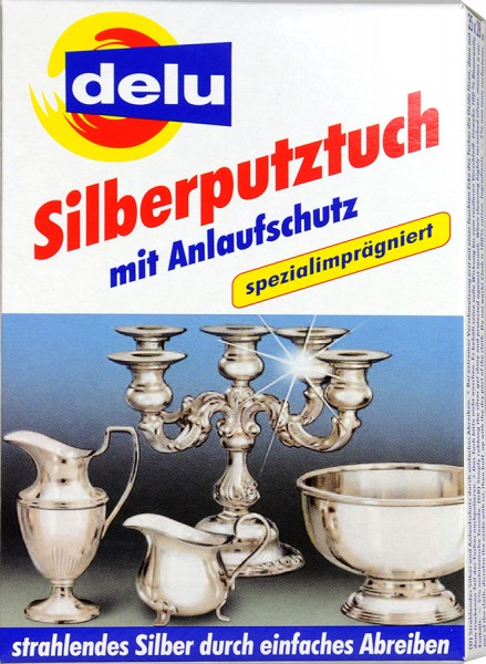 Delu Silver Cleaning Cloth, 35 x 28