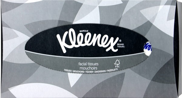 Kleenex Facial Tissues, 100-count