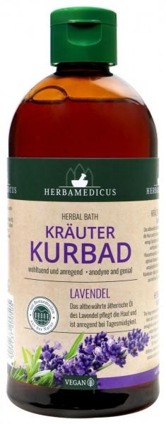 Herbamedicus Lavender Herbal Bath, 500 ml