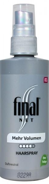 Final Net Hairspray, 125 ML