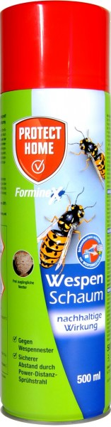Protect Home Wasp Foam, 500 ml