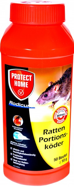 Protect Home Rat Bait, pre-portioned sachets, 500 g