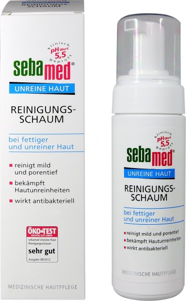 Sebamed Blemished Skin Foaming Cleanser, 150 ml