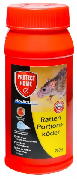 Protect Home Rodicum Rat Bait, pre-portioned sachets, 250 g