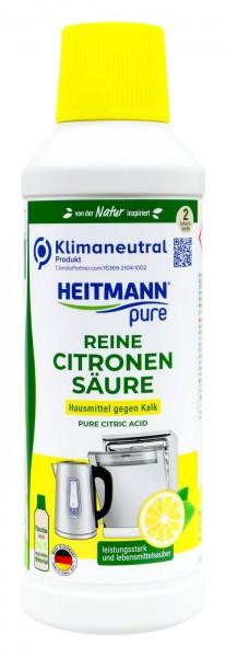 Heitmann Pure Citric Acid, 500 ml