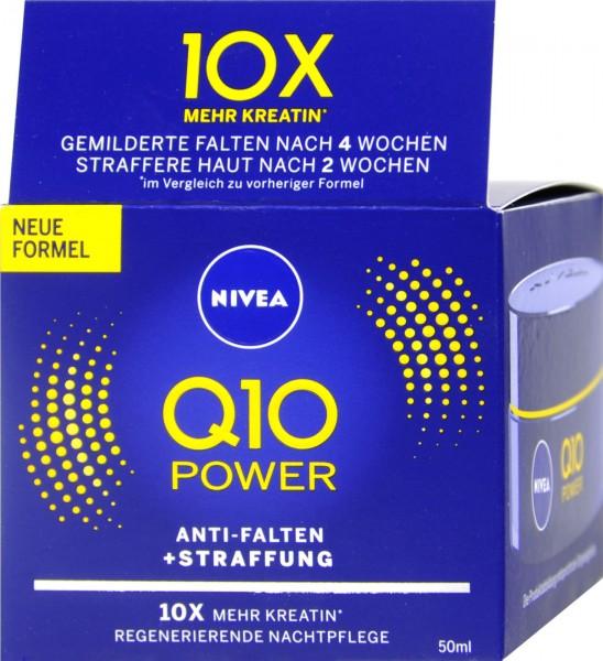 Nivea Visage Q10 Night Cream, 50 ml
