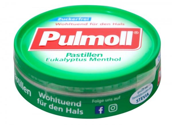 Pulmoll Eucalyptus Menthol, sugar-free, 50 g