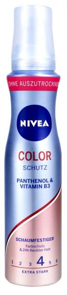 Nivea Colour Protect Hairstyling Mousse, 150 ml