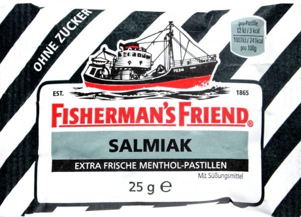 Fisherman's Friend Salted Licorice, sugar-free, 25 g