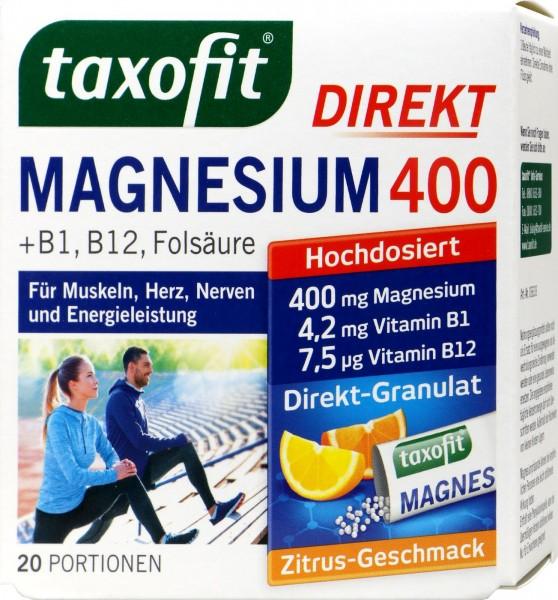 Taxofit Magnesium 400 Granules, 20-count
