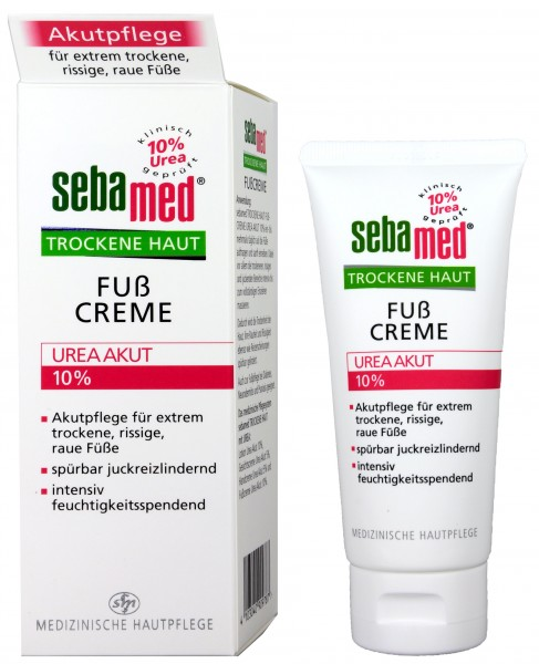 Sebamed Dry Skin Urea 10% Foot Cream, 100 ml