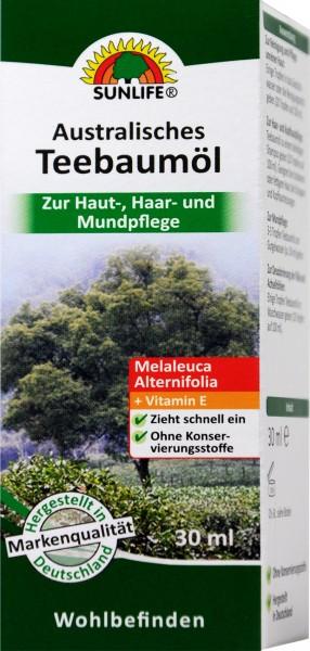 Sunlife Australian Tea Tree Oil, 30 ml