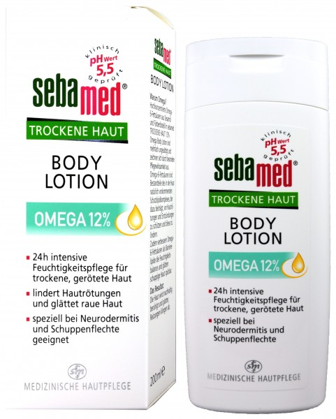 Sebamed Dry Skin Omega 12% Lotion, 200 ml